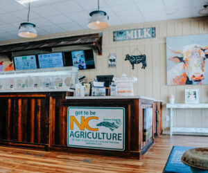 Simply Natural Creamery Interior